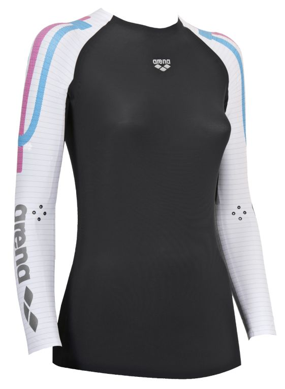 W Carbon Compression Long Sleeve