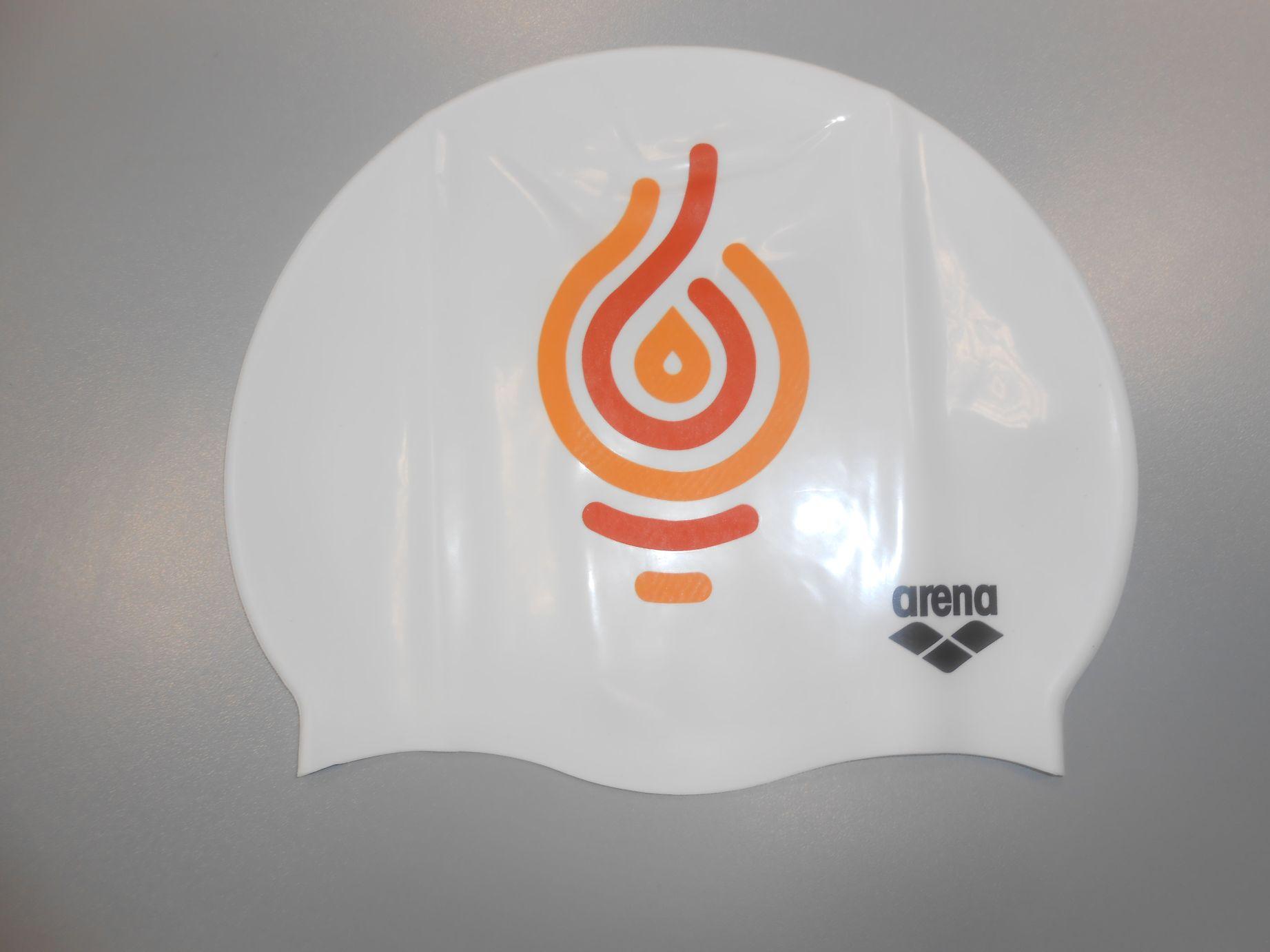 Silicone Cap Logo Masters Budapest 2017  814450bcf1