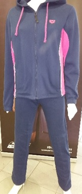 Hooded F/Z Tracksuit Woman